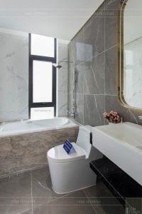 nội thất biệt thự tân cổ điển - phòng vệ sinh master