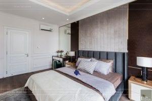 nội thất biệt thự tân cổ điển - phòng ngủ master 2