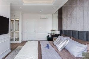 nội thất biệt thự tân cổ điển - phòng ngủ master 3