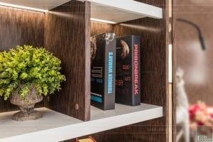 nội thất biệt thự tân cổ điển - phòng đọc sách 2