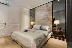 nội thất biệt thự tân cổ điển - phòng ngủ 8