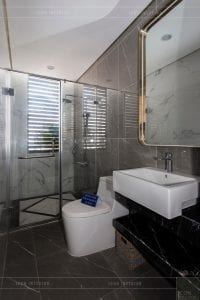 nội thất biệt thự tân cổ điển - nhà vệ sinh lầu 2