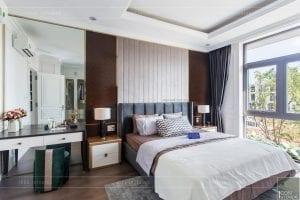 nội thất biệt thự tân cổ điển - phòng ngủ master 1