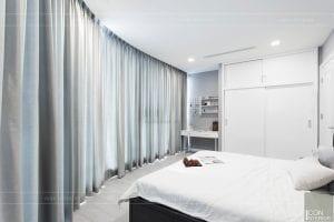 thi công căn hộ aqua 1 vinhomes golden river - phòng ngủ nhỏ 4
