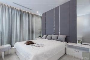 thi công căn hộ aqua 1 vinhomes golden river - phòng ngủ 1