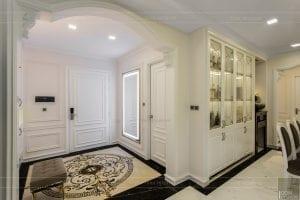phong cách nội thất tân cổ điển - thiết kế phòng khách bếp 13
