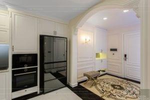 phong cách nội thất tân cổ điển - thiết kế phòng khách bếp 12