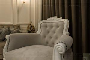 phong cách nội thất tân cổ điển - thiết kế phòng khách bếp 3