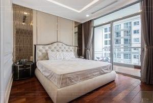phong cách nội thất tân cổ điển - thiết kế phòng ngủ master 3