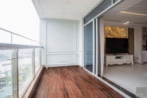 phong cách nội thất tân cổ điển - thiết kế phòng khách bếp 9