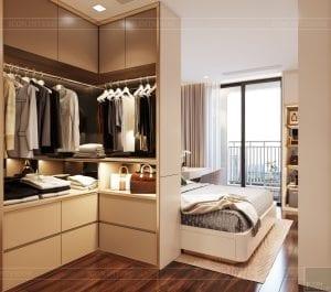 căn hộ centana thủ thiêm quận 2 - phòng ngủ master 2