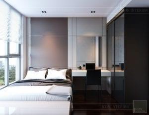 căn hộ masteri an phú quận 2 - thiết kế phòng ngủ nhỏ