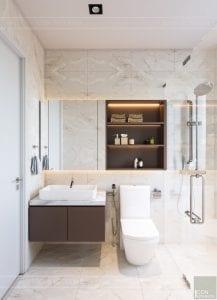 căn hộ masteri an phú quận 2 - phòng vệ sinh