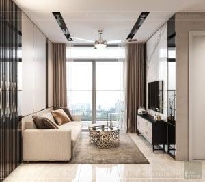căn hộ masteri an phú quận 2 thiết kế phòng khách