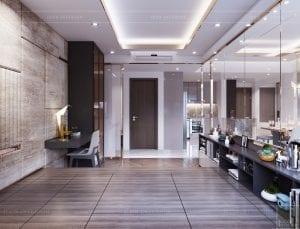 thiết kế căn hộ sunrise cityview - phòng ngủ nhỏ 4