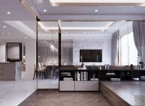 thiết kế căn hộ sunrise cityview - phòng ngủ nhỏ 3