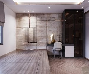 thiết kế căn hộ sunrise cityview - phòng ngủ nhỏ 2