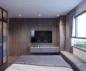 thiết kế căn hộ sunrise cityview - phòng ngủ master 3