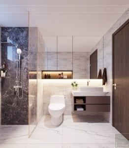 thiết kế căn hộ sunrise cityview - phòng ngủ master 4