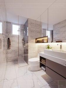 thiết kế căn hộ sunrise cityview - phòng ngủ master 5