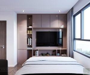 thiết kế căn hộ sunrise cityview - phòng ngủ nhỏ 7