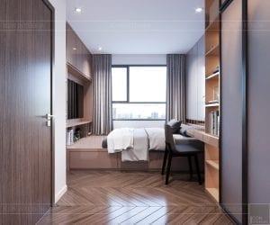 thiết kế căn hộ sunrise cityview - phòng ngủ nhỏ 6