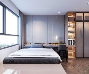 thiết kế căn hộ sunrise cityview - phòng ngủ nhỏ 5