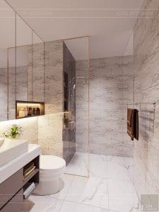 thiết kế căn hộ sunrise cityview - phòng vệ sinh 1