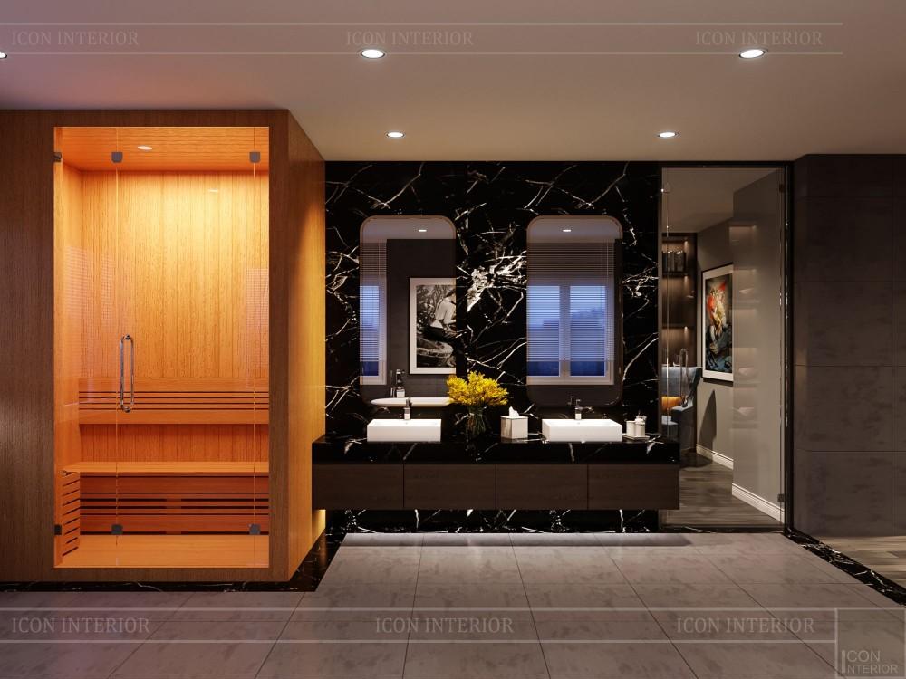 thiết kế nội thất biệt thự cao cấp - phòng vệ sinh 2