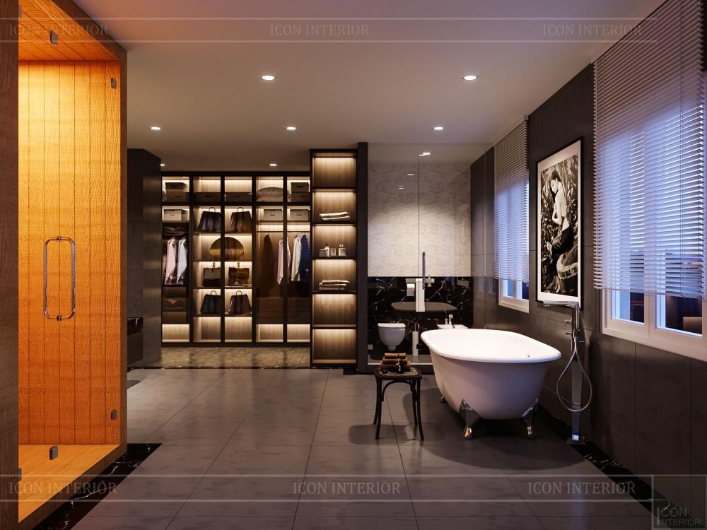 thiết kế nội thất biệt thự cao cấp - phòng vệ sinh 3