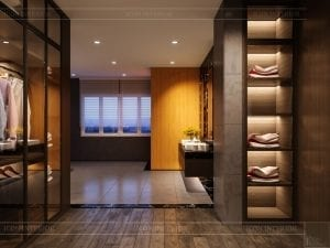 thiết kế nội thất biệt thự cao cấp - phòng vệ sinh 1