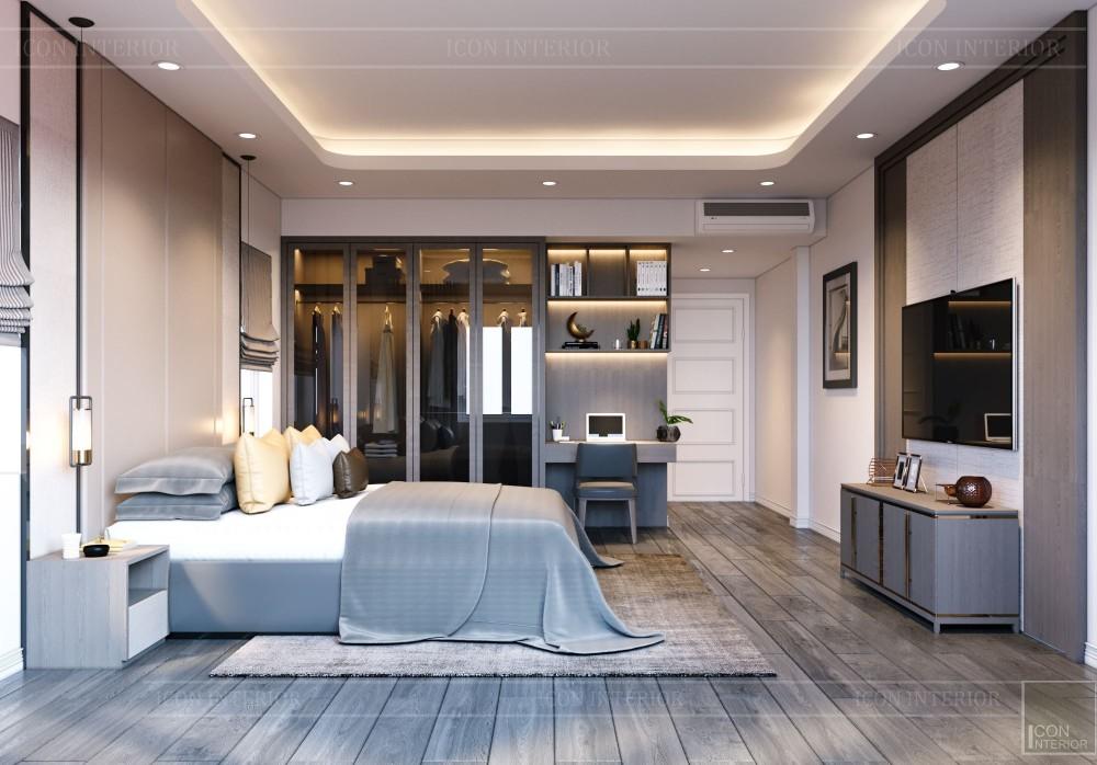 thiết kế nội thất biệt thự hiện đại - phòng ngủ nhỏ 9