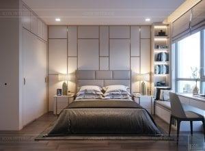 thiết kế nội thất chung cư 110m2 - phòng ngủ 6