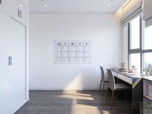 thiết kế nội thất chung cư 120m2 - phòng đa năng 1