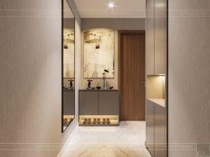 thiết kế nội thất đẹp hiện đại - tiền sảnh