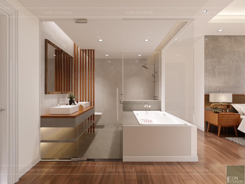 thiết kế nội thất căn hộ ocean vista - phòng vệ sinh 2