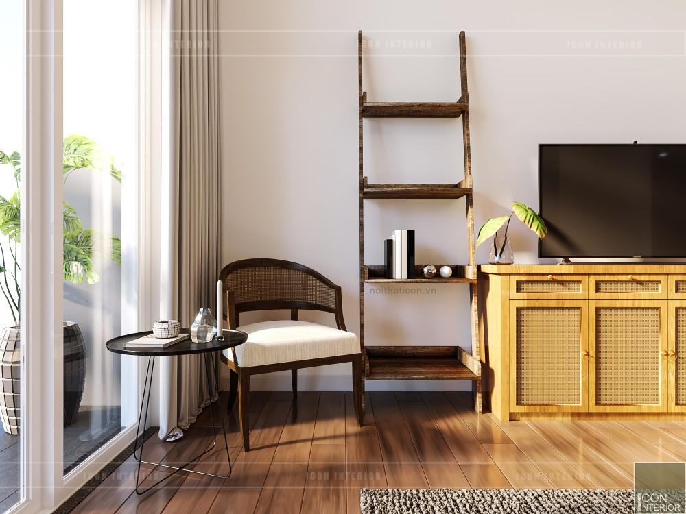 thiết kế nội thất căn hộ ocean vista - phòng ngủ master 5