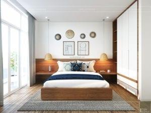 thiết kế nội thất căn hộ ocean vista - phòng ngủ 2