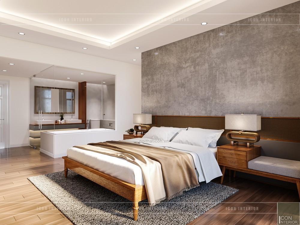thiết kế nội thất căn hộ ocean vista - phòng ngủ master 4