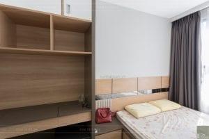 thi công căn hộ the sun avenue - phòng ngủ 9