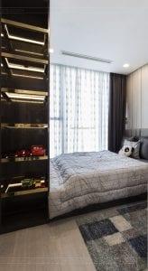 thi công căn hộ chung cư vinhomes ba son - phòng ngủ bé 3