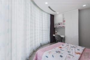 thi công căn hộ chung cư vinhomes ba son - phòng ngủ bé 2