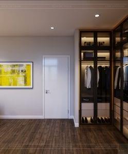 thiết kế nhà theo phong cách hiện đại - phòng ngủ master 5