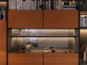 thiết kế nhà theo phong cách hiện đại - phòng làm việc 3