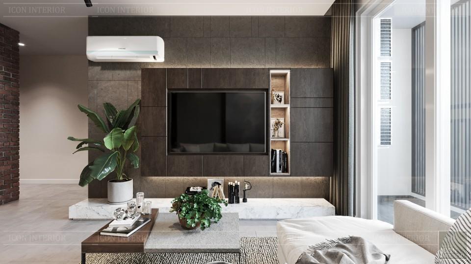 phong cách công nghiệp trong thiết kế nội thất - phòng khách bếp 6