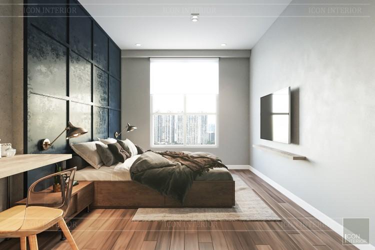 phong cách công nghiệp trong thiết kế nội thất - phòng master 2