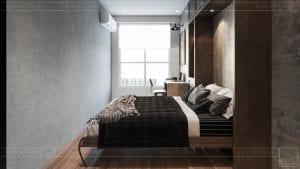 phong cách công nghiệp trong thiết kế nội thất - phòng ngủ 6