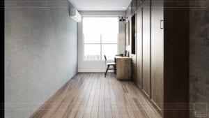 phong cách công nghiệp trong thiết kế nội thất - phòng ngủ 1