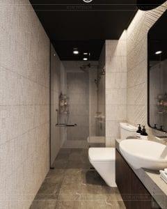 phong cách công nghiệp trong thiết kế nội thất - phòng khách bếp 8