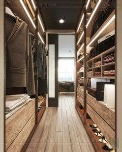 phong cách công nghiệp trong thiết kế nội thất - phòng master 6
